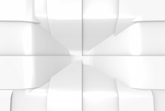 Fondo moderno de la pared del modelo de la curva blanca ligera de tira que agita