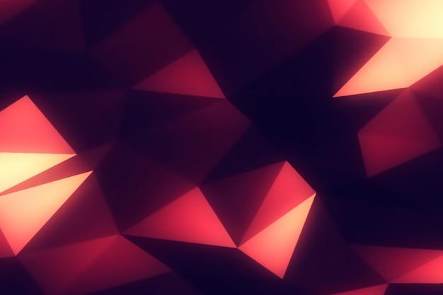 Fondo moderno poligonal abstracto