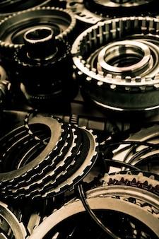 Fondo de montaje de engranaje de automóvil