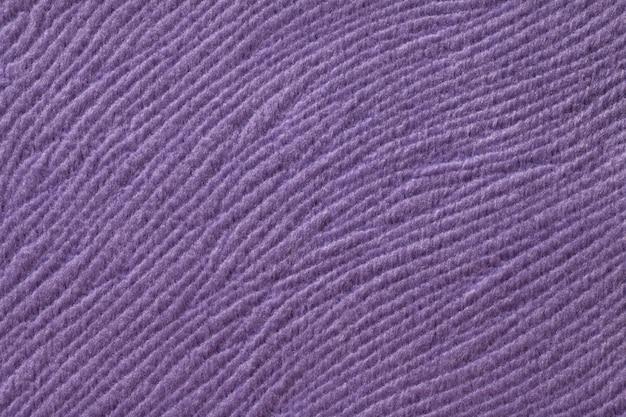 Fondo morado de textil lanudo