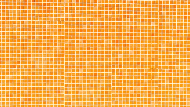 Fondo de mosaico de piscina naranja