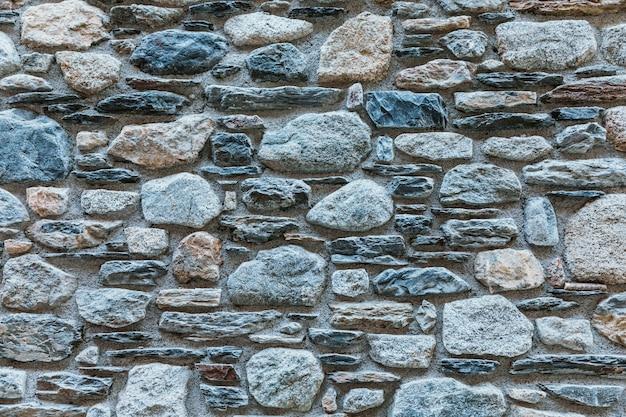 Fondo de un muro de piedra