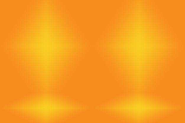 Fondo naranja abstracto con color degradado de círculo suave.