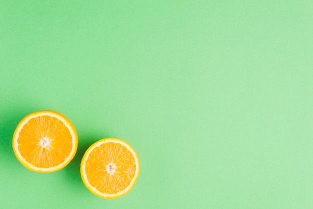 Fondo de naranja con copyspace grande