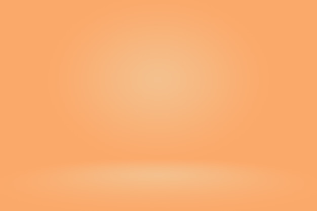 Fondo naranja liso abstracto