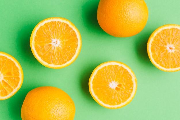 Fondo de naranja