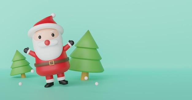 Fondo de navidad, feliz navidad, celebraciones navideñas con papá noel,.