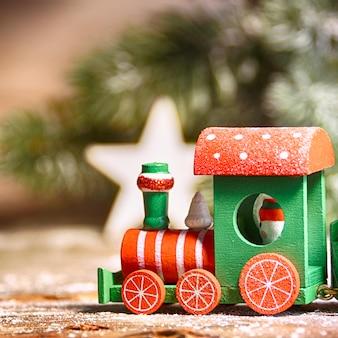 Fondo de navidad de invierno