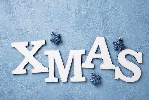 Fondo de navidad con letras navidad