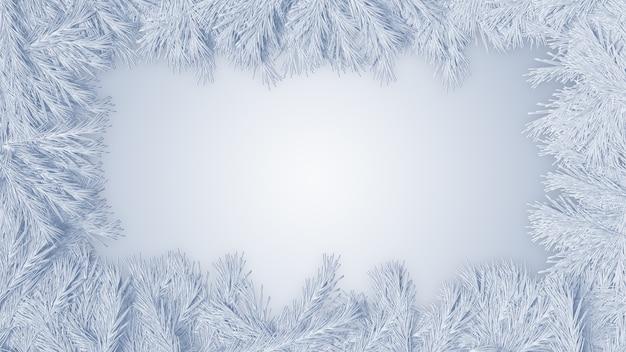 Fondo de navidad muñeco de nieve