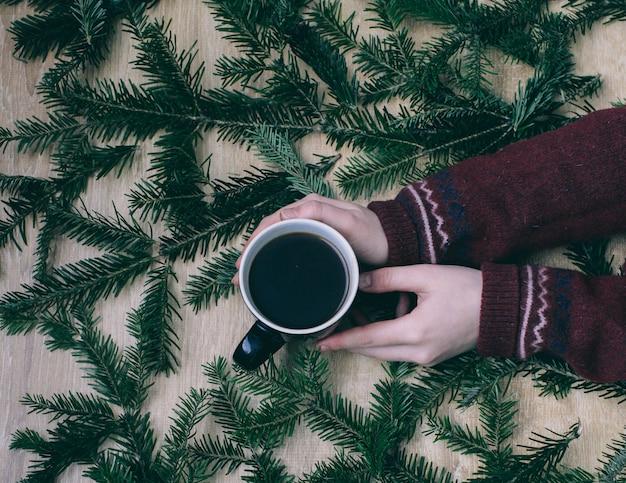 Fondo de navidad y papel tapiz