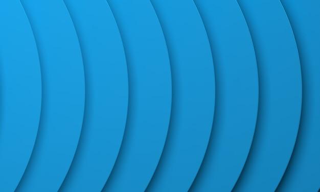 Fondo ondulado azul abstracto. ilustración de renderizado 3d