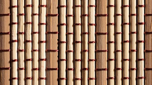 Fondo orgánico de elementos de madera