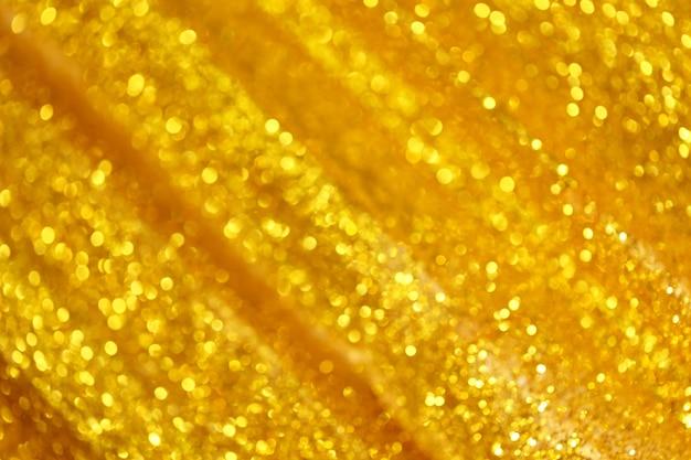Fondo de oro abstracto bokeh