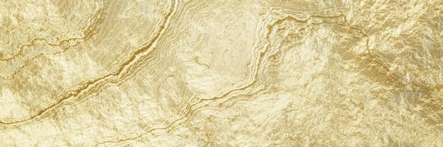 Fondo de oro abstracto de renderizado 3d