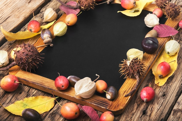 Fondo de otoño simbólico