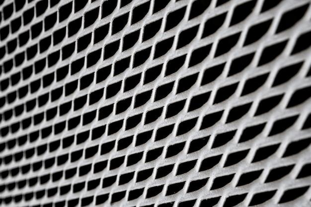 Fondo de panel de valla industrial de alambre de hierro