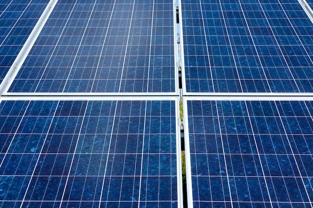 Fondo de paneles solares