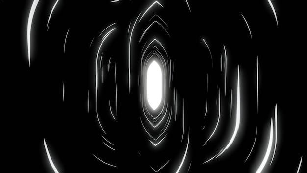 Fondo de pantalla de fondo blanco negro abstracto pantalla de brillo de velocidad de línea negra
