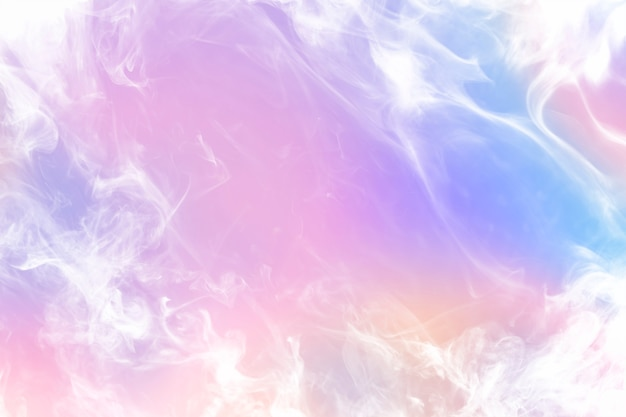Fondo de pantalla de humo rosa estético