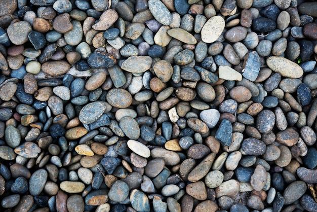Fondo de pantalla de patrón de textura de piedras de guijarros