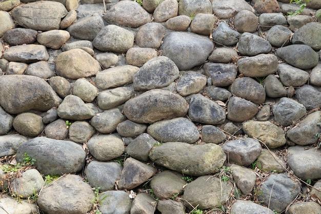 Fondo de pantalla de patrón de textura de rocas de guijarros
