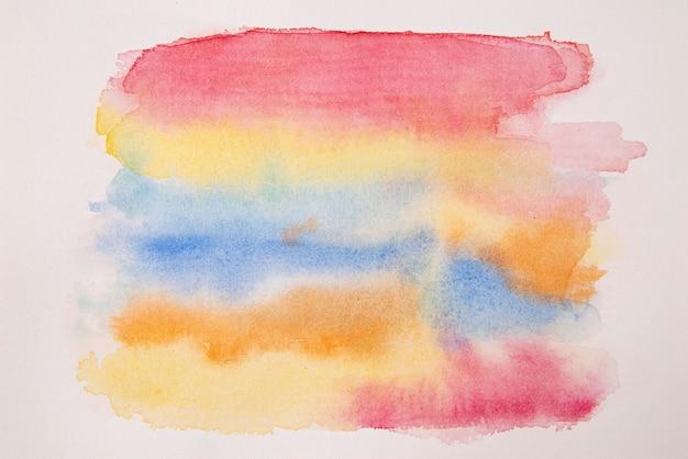 Fondo de pantalla de pintura de acuarela de vista superior