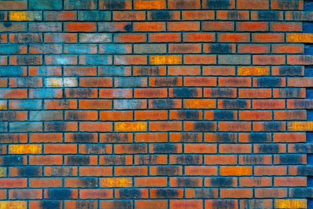 Fondo de pantalla de textura de pared de ladrillo rojo