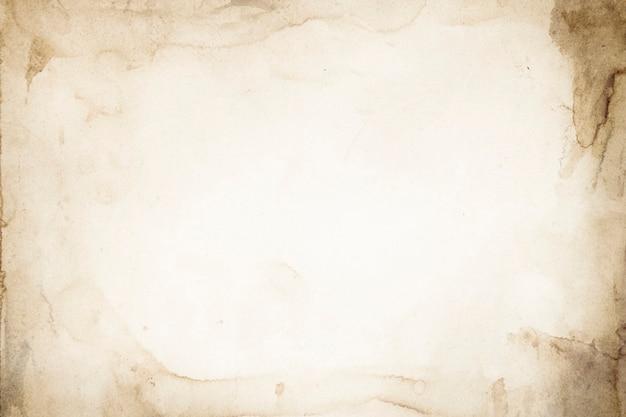 Fondo de papel de acuarela con textura vintage