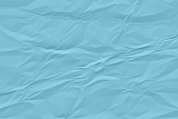 Fondo de papel azul arrugado de cerca