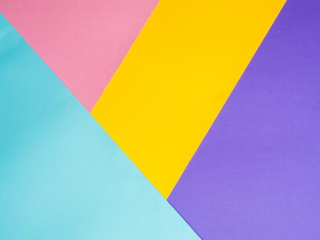 Fondo de papel de colores de colores.