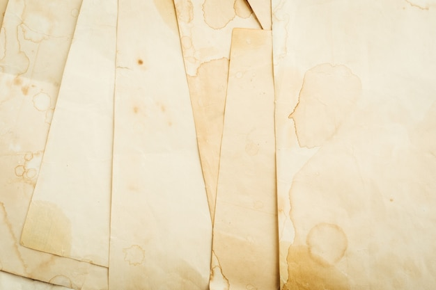 Fondo de papel escrito vintage. de cerca. foto de alta calidad