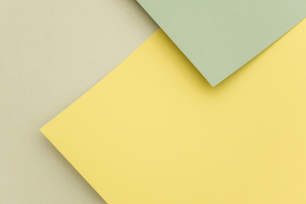 Fondo de papel geométrico, textura de tonos verdes.