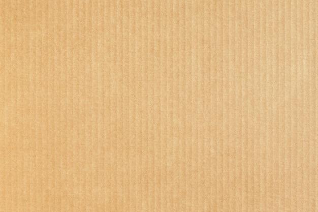 Fondo de papel kraft. textura de cartón caja de cartón.