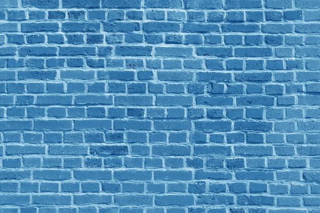 El fondo del papel tapiz de la pared de ladrillo azul antiguo y varias escenas o como fondo para entrevistas en video.
