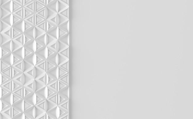 Fondo paramétrico basado en una cuadrícula triangular con diferentes patrones de diferentes volúmenes.