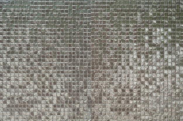Fondo de pared de azulejos de plata