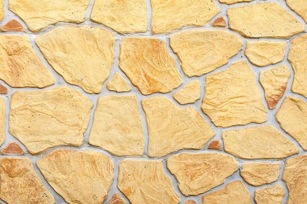 Fondo de pared decorativa amarilla