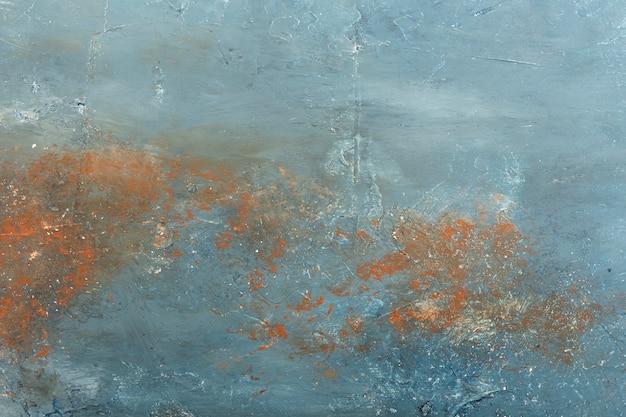 Fondo de pared de estuco con textura oxidada