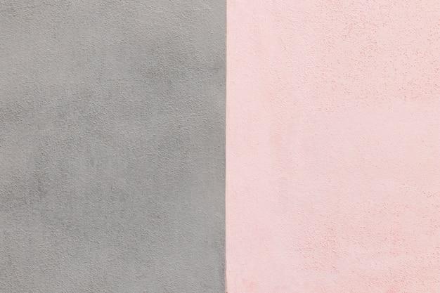 Fondo de pared gris y rosa