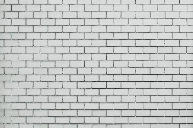 Fondo de pared de ladrillo blanco con textura