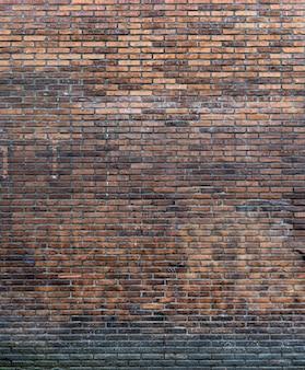 Fondo de pared de ladrillo rústico copia espacio