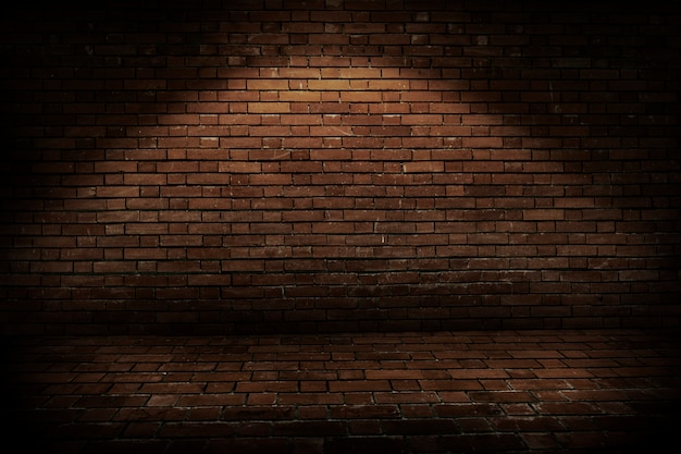 Fondo de pared de ladrillo rústico