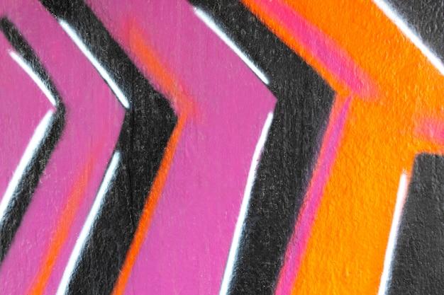 Fondo de pared de líneas pintadas