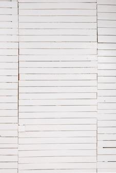 Fondo de pared de madera blanca