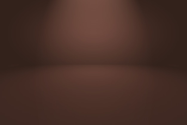 Fondo de pared marrón liso abstracto