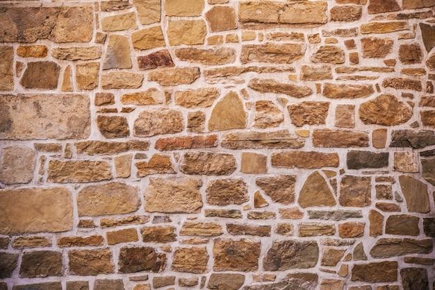 Fondo de la pared de la pared de piedra