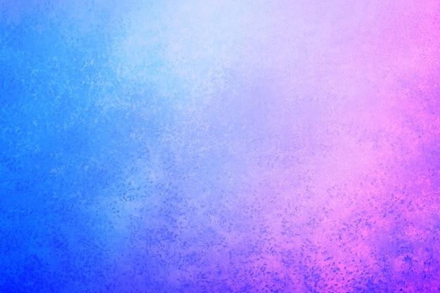 Fondo de pared de pintura vacía rosa azul para telón de fondo
