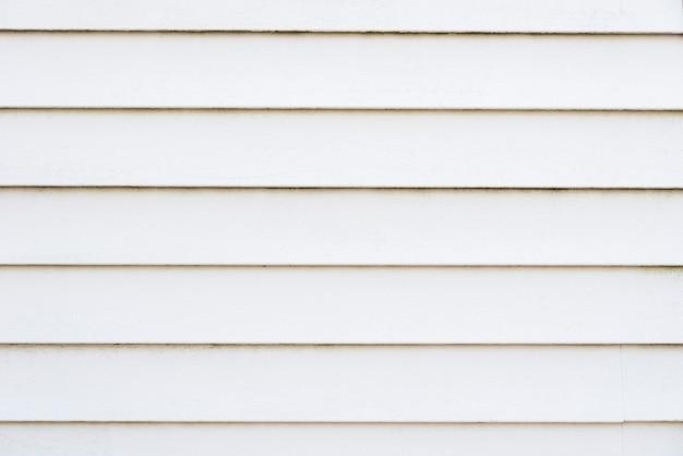 Fondo de pared de tablones de madera blanca