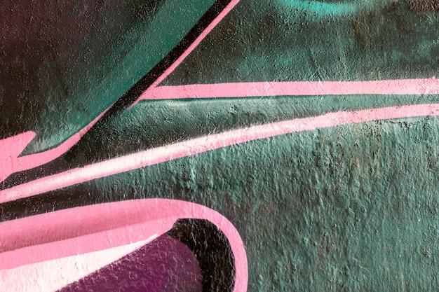Fondo de pared con textura abstracta colorida